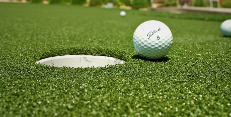 Consider the putting surface